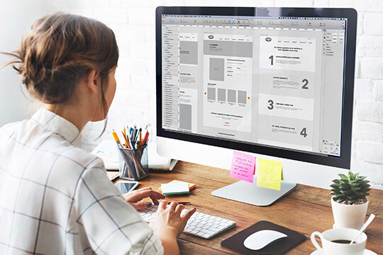 HQWS UI / UX design